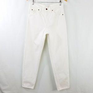 Vintage Levi's Orange Tab White 550 Jeans